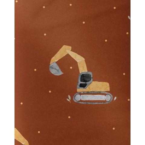 Cocoa brown - Fleece Minky...