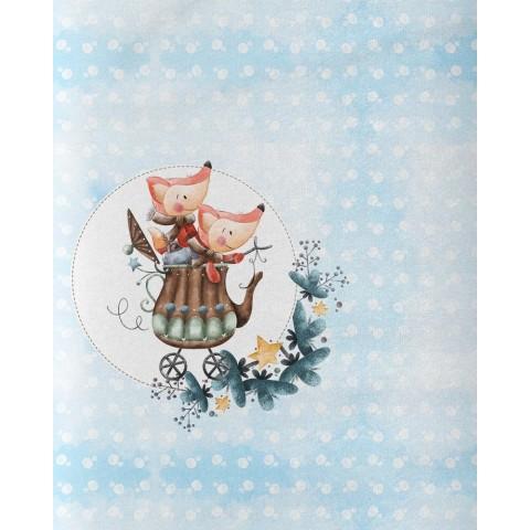 Grape shake - Bavlněná tkanina