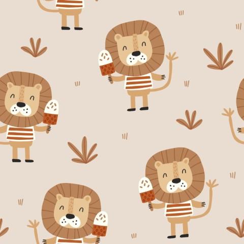 Pumpkin Spice - Coton uni