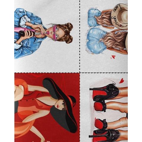 Le softshelI- Glacier Gray