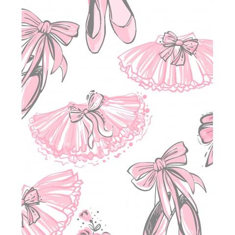 Vintage khaki - Minky kropki