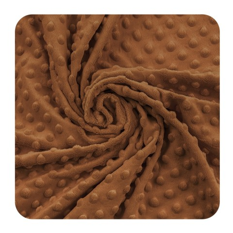 Minky kropki - Victoria Blue